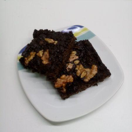 brownie de porotos negros
