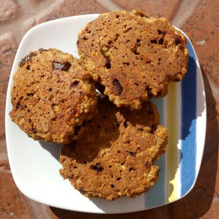 cookies de avena y chocolate