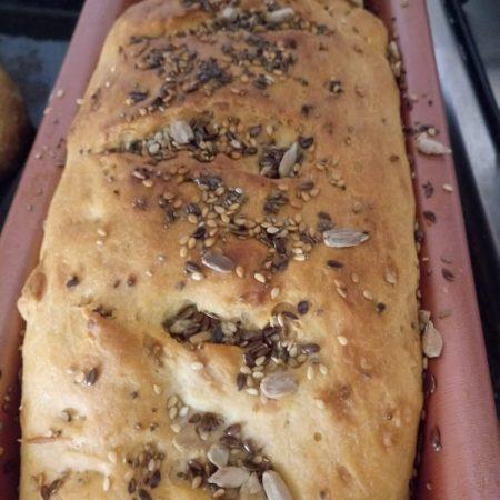 Pan integral de semillas