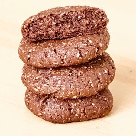 cookies de chocolate y jengibre