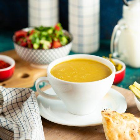 sopa crema de vegetales
